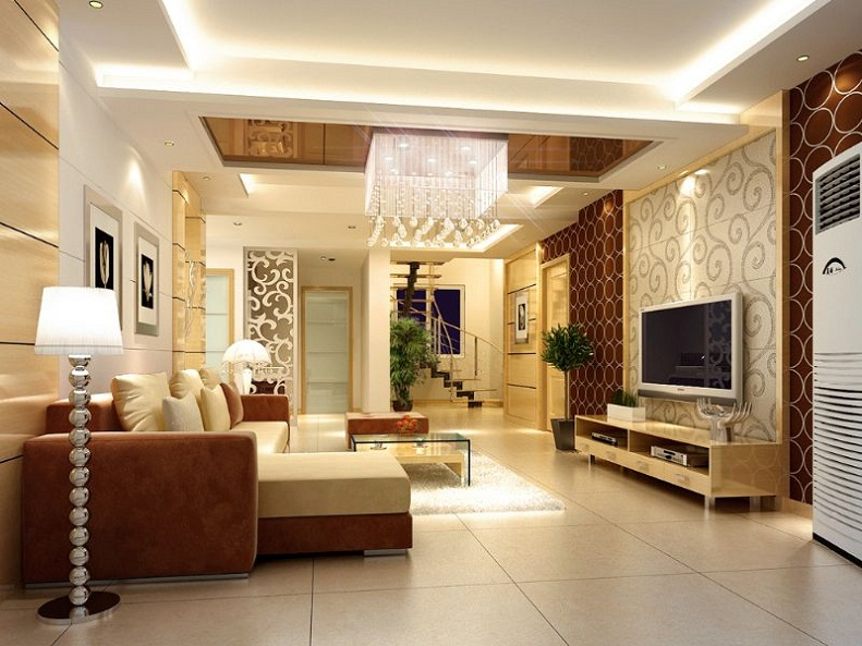 подвесные потолки в квартирах