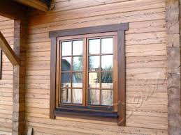 окна из дерева в деревянный дом