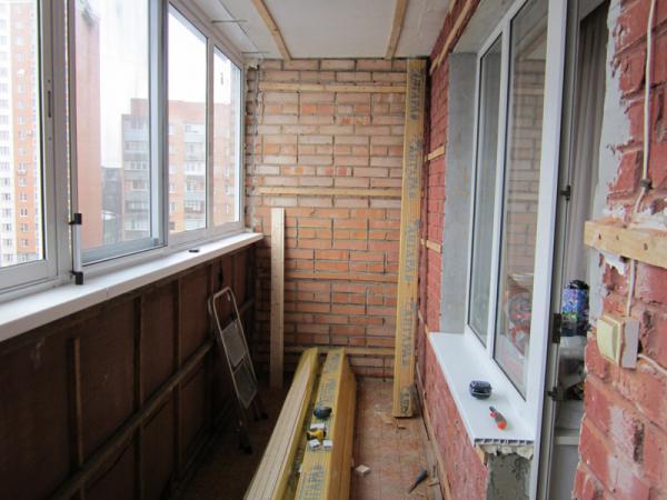 начинаем ремонт балкона
