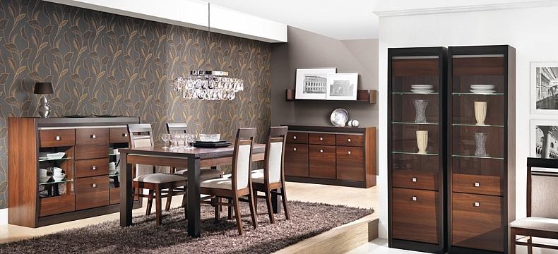 стол и мебель в стиль из натурального дерева