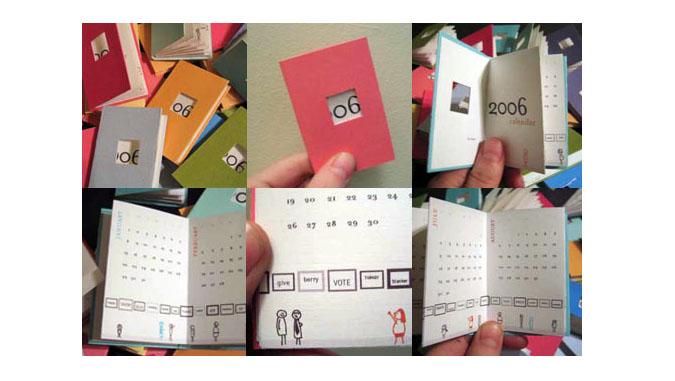 карманные календари в наше время