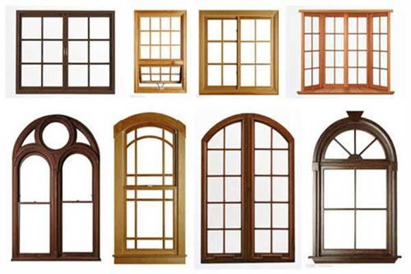 варианты деревянных окон