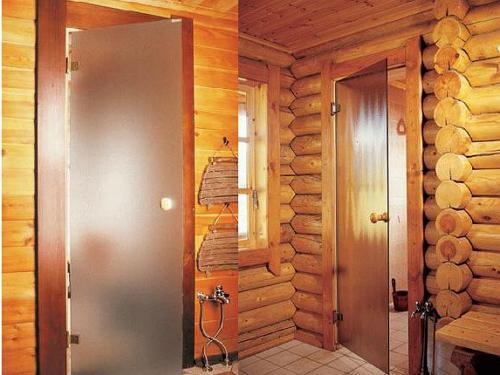 двери для сауны и бани  луидор фото