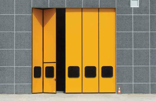 складные ворота подвесного типа