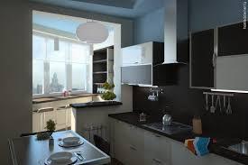 лоджия на кухне