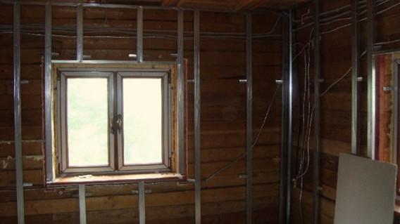гипсокартонные листы для деревянных домов