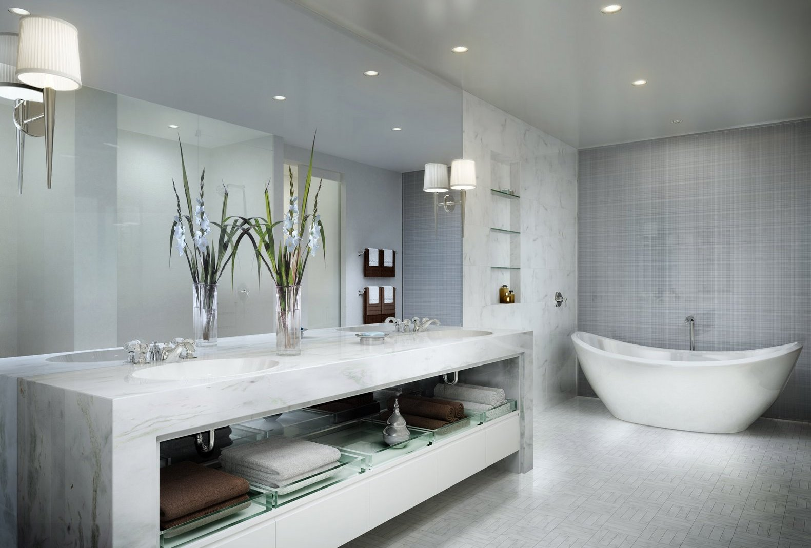 ремонт, отделка ванной комнаты