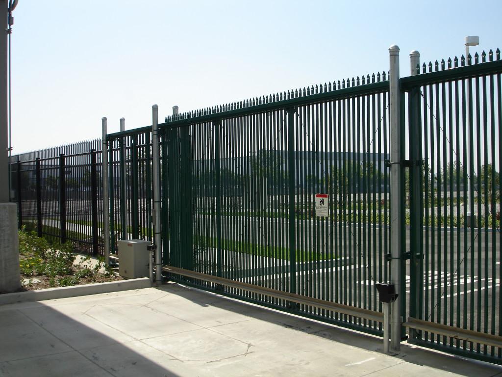 еще один вид автоматических ворот