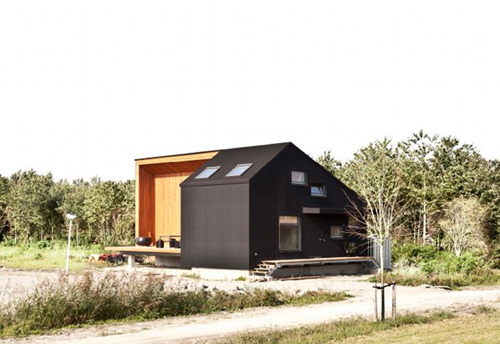 деревянный дом имитация бруса