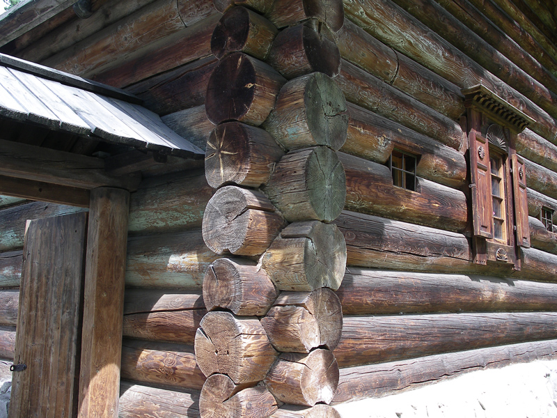 дома из бруса на руси старые