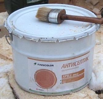 антисептик для обработки дерева