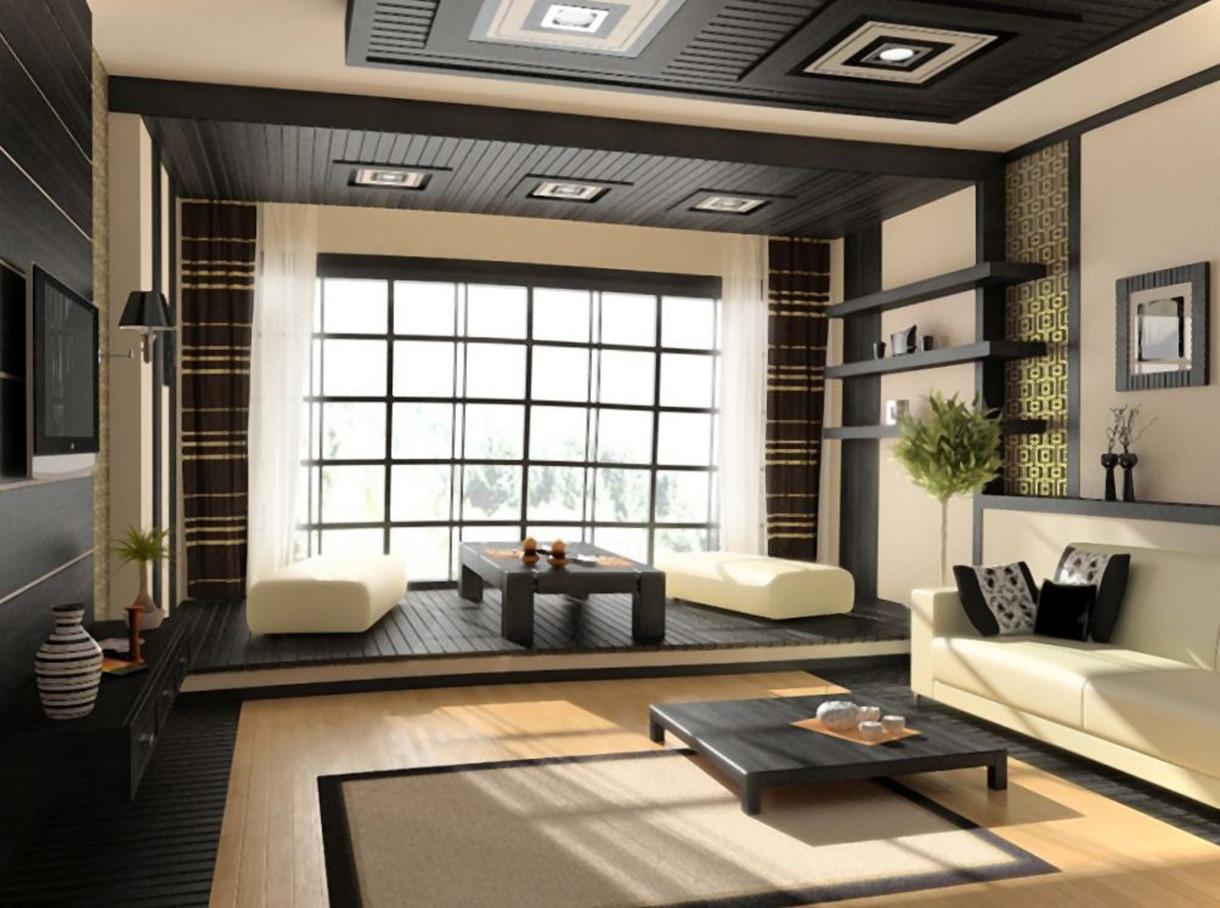 фото спальня в японском стиле