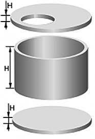 железобетонные кольца  схема