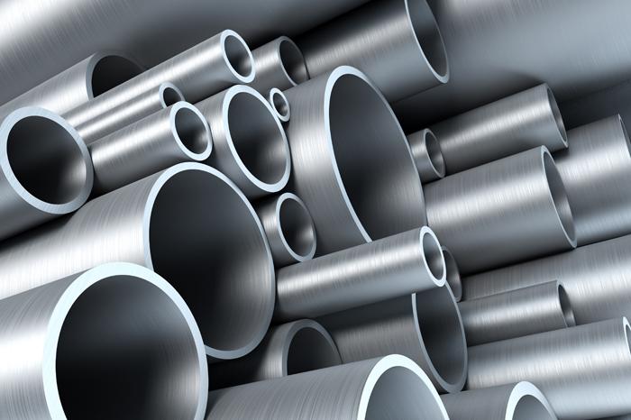 оцинкованные стальные трубы на фото