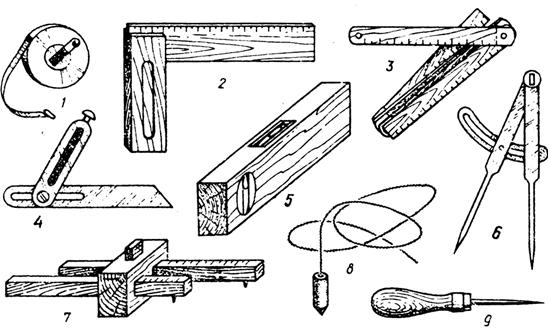 разметка пиломатериалов инструменты