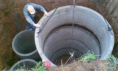 кольца для канализации доставка