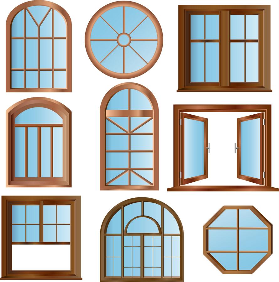 Нестандартные варианты пластиковых окон