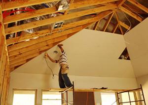 обшивка гкл внутри деревянного дома фото