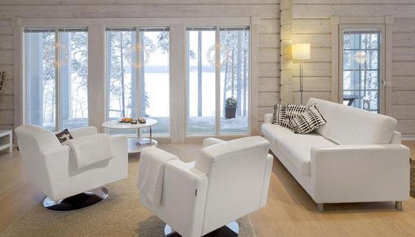 окна финские из дерева