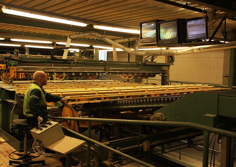 процесс изготовления пиломатериалов