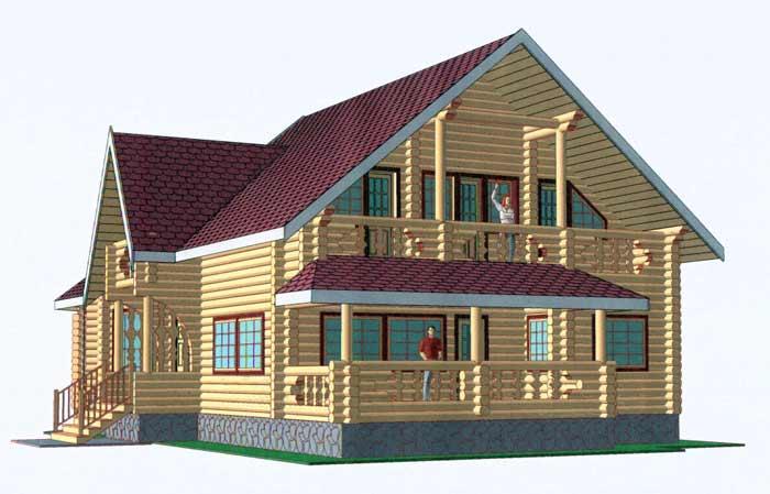 строительство деревянных домов их бруса