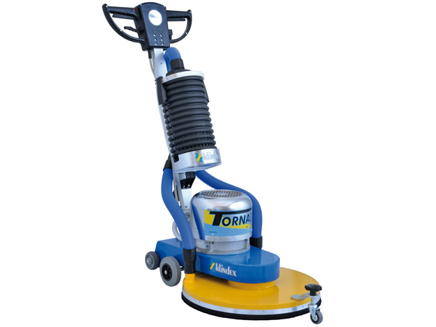 machine for polishing floors