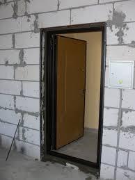 двери проем из пеноблоков