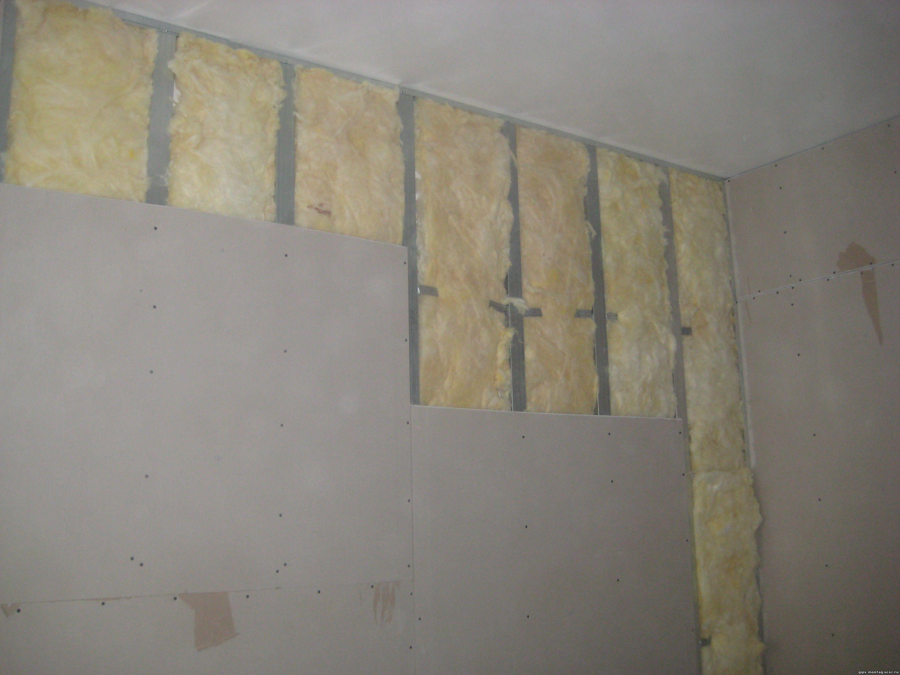 гипсокартонные листы отделка стен