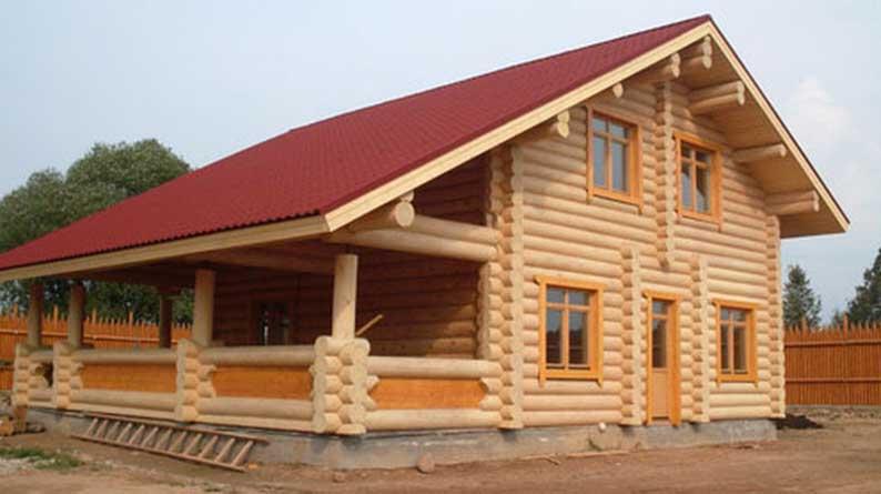 Строительство домов из бревен