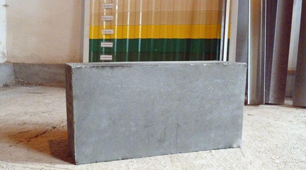 фото строительный пеноблок