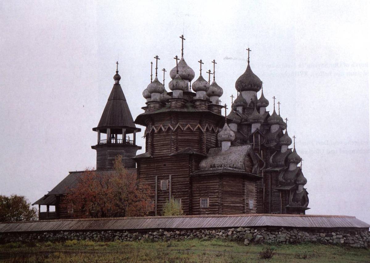 церковь из бруса на руси
