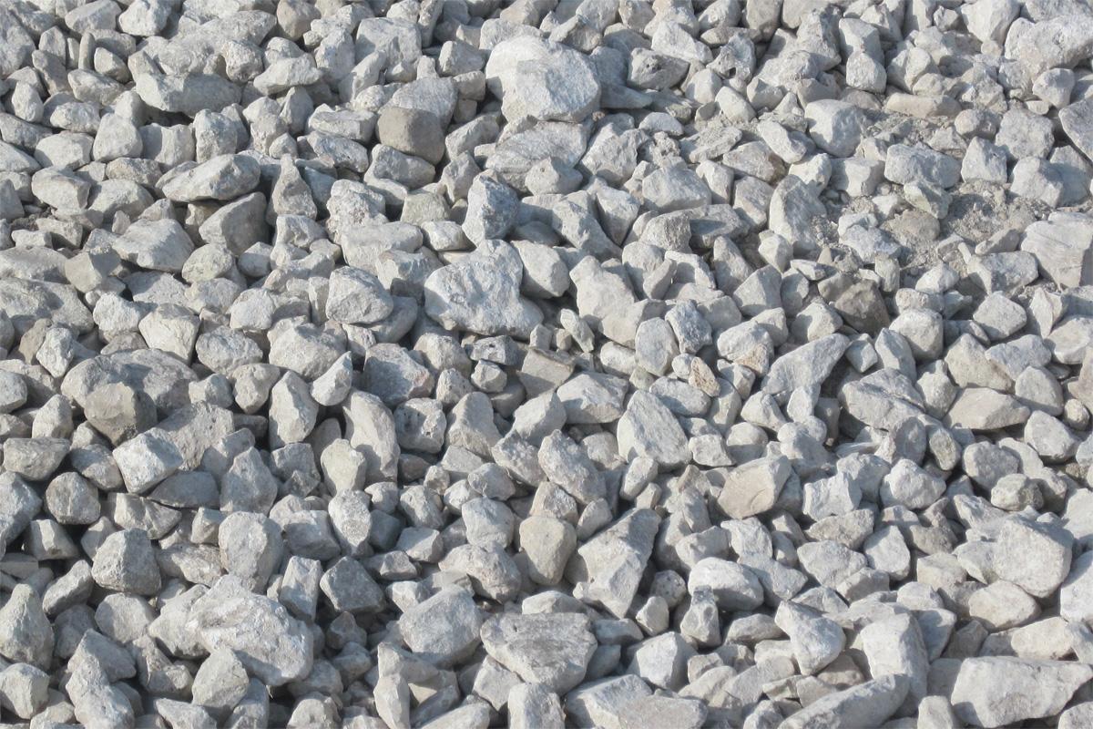 щебень входит в бетон